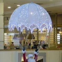 Дед Мороз на парашюте :: Наиля
