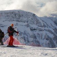 Хорошо зимой на лыжах :: Виолетта