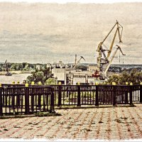 Вблизи шлюзов... :: Андрей Головкин