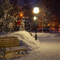 Вечер в нашем сквере :: Оксана Галлямова