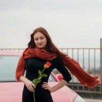 Девушка с розой :: Albina