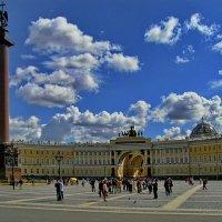 Санкт-Петербург. Дворцовая площадь. :: Владимир Ильич Батарин