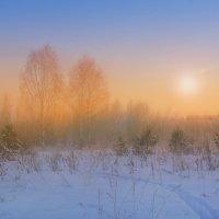 Зимнее утро туманом проснулось, чуть приоткрыло задумчивый глаз.. :: Алла Кочергина