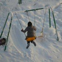 Зима......после школы. :: Светлана Пантелеева