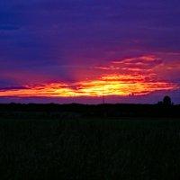 Последние лучи заката :: Сергей Владимирович Егоров