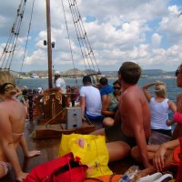 Отдых на море, Крым. Морская прогулка на Карадаг-5. :: Руслан Грицунь