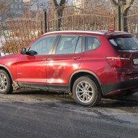Красный БМВ :: Дмитрий Никитин