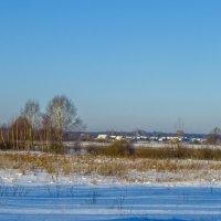 Зимние просторы :: Сергей Цветков