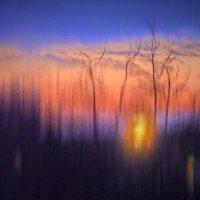 Необычный закат :: Валерий Талашов