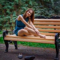 Отдохнуть бы, фотограф... :: Евгений Никифоров