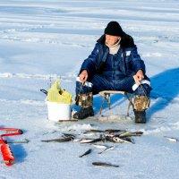 Рыбак. :: Павел Бескороваев