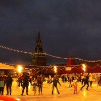 Каток на Красной площади :: Андрей Лукьянов