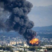 Вновь пожар в Хайфе :: Eddy Eduardo