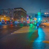 Москва, площадь Белорусского вокзала, Предновогодье. :: Игорь Герман