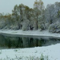 октябрьский снег :: Александр Прокудин