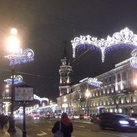 Новогодний Невский :: Svetlana Lyaxovich