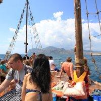 Отдых на море, Крым. Морская прогулка на Карадаг-16. :: Руслан Грицунь