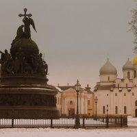 Памятник Тысячелетие России и Софийский собор :: Татьяна