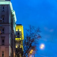 Москва, Ленинградский проспект, Предновогодье. :: Игорь Герман