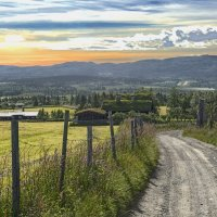 дорогами Норвегии :: ник. петрович земцов