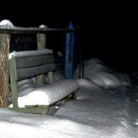 Кто прошел,  кто оказался смелым, расписал узорами ковер зимы? :: Марина