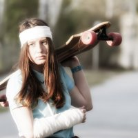 favorite skateboard :: Dmitry Ozersky