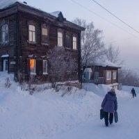 Был лютый мороз..., -35С :: Oksana