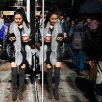 Hong Kong in reflections :: Sofia Rakitskaia