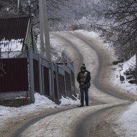 Зимняя дорога :: Людмила Синицына
