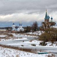 Зима в Дунилово... :: Оксана Колиева