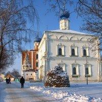 Рязань.Спасский мужской монастырь.Год основания 1467. :: Лесо-Вед (Баранов)