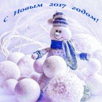 Снеговик :: Вера Бережная