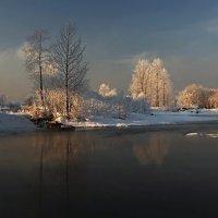 В конце декабря на сибирской реке... :: Александр Попов