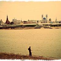 Рыбак-созерцатель :: Андрей Головкин