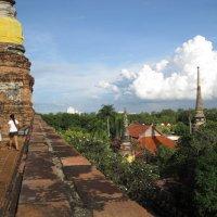 Таиланд. Аютхая. Храм XIV века. :: Лариса (Phinikia) Двойникова