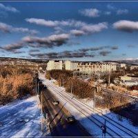 Ул. Огородная вид с моста. :: Anatol Livtsov