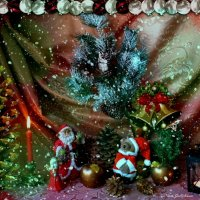 Свет праздника. С Новым годом! :: Nina Yudicheva