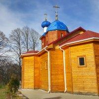 Деревянная церковь. :: Игорь Карпенко
