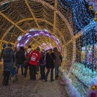 В новогоднем тоннеле. :: Сергей Бурлакин