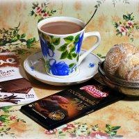 А не испить ли нам для бодрости чашку горячего шоколаду? :: Андрей Заломленков