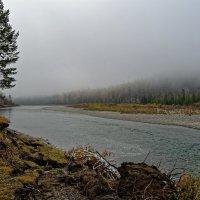 Туман на реке :: Евгений Карский