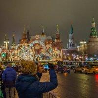 6 часов до Нового Года, Москва. :: Александр Орлов