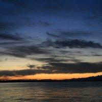 Закат на озере Иссык-Куль :: GalLinna Ерошенко