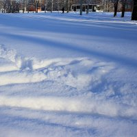 Снежный  троллейбус.... :: Валерия  Полещикова