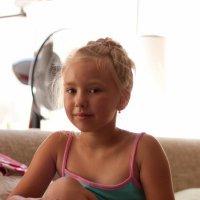 Портрет девочки Жанны :: Сергей Турилов