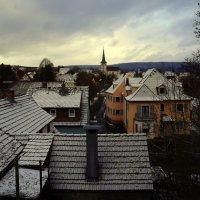 Город Зимой.. :: Эдвард Фогель