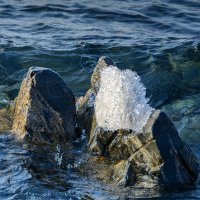 лед и вода :: Елена Вторушина