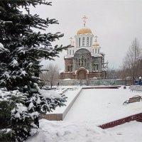 Строящийся Храм :: Александр Алексеев