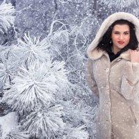 Зимняя сказка... :: Райская птица Бородина