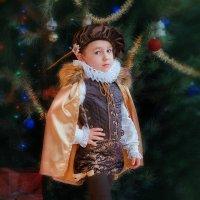 МАленький паж на новогодней ёлке! :: Ольга Егорова